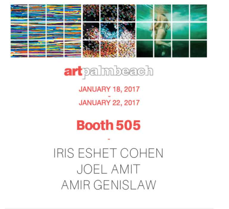 2017 תערוכת Art Palbeach USA