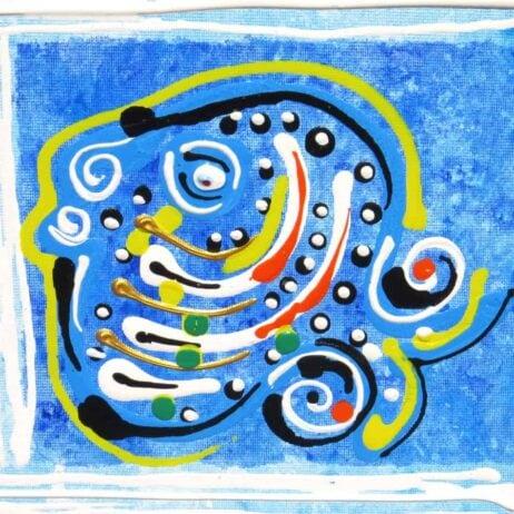 דג בציור