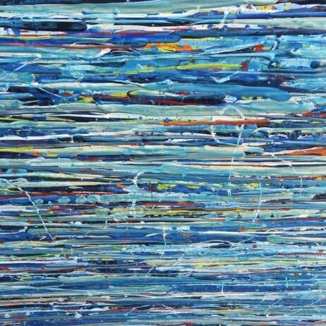 איריס עשת כהן Colors of life ציורים עם פסים