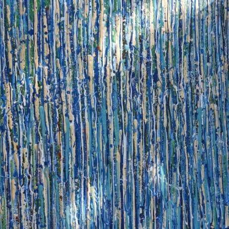 איריס עשת כהן Colors of life פסים באומנות ישראלית