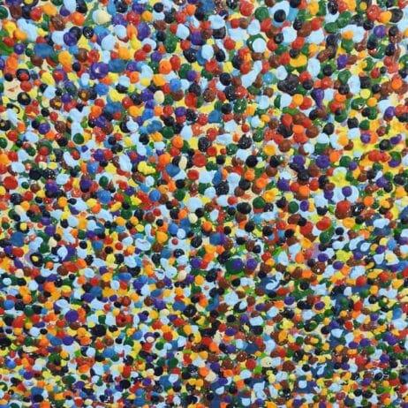 איריס עשת כהן Colors of life נקודות בציורים