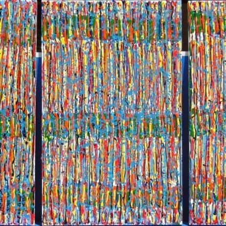 """איריס עשת כהן Colors of life אומנות ישראלית בארה""""ב"""
