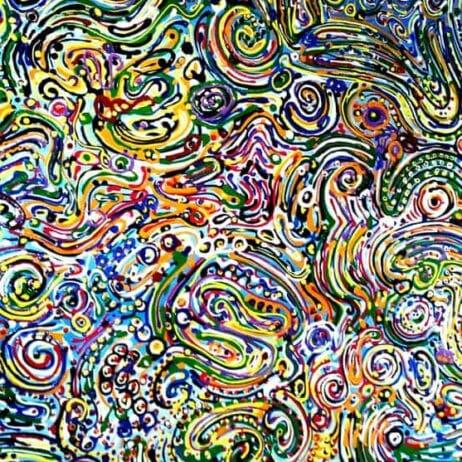 """ישראלית במייאמי איריס עשת כהן Colors of life אומנות ישראלית בארה""""ב"""