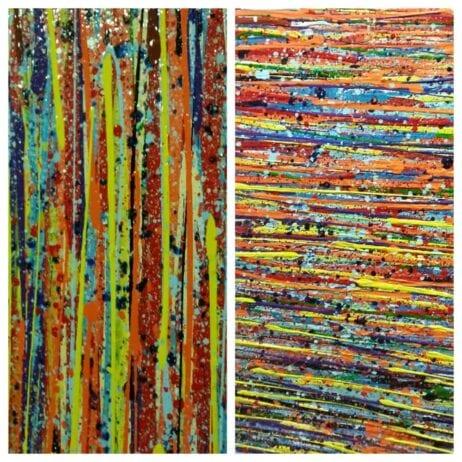 איריס עשת כהן Colors of life ציירת פעילה בתל אביב
