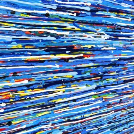 """ציורים בגלריה בארה""""ב איריס עשת כהן Colors of life"""