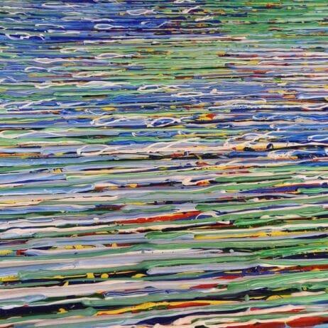 איריס עשת כהן Colors of life ציור לאספנים