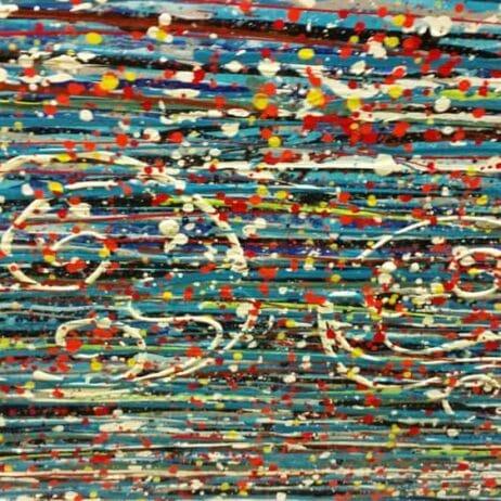 דגים בציורים איריס עשת כהן Colors of life