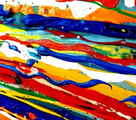 ציורים ענקיים איריס עשת כהן Colors of life