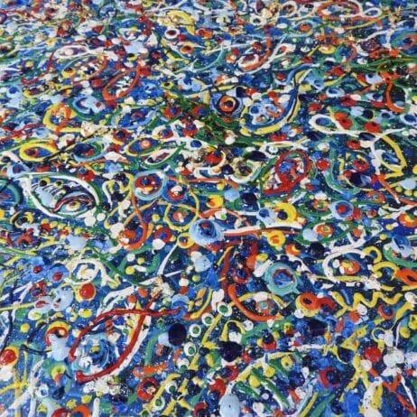 ציורים דגים צבעוניים איריס עשת כהן Colors of life