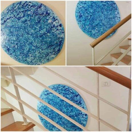 אמנות בחדר מדרגות
