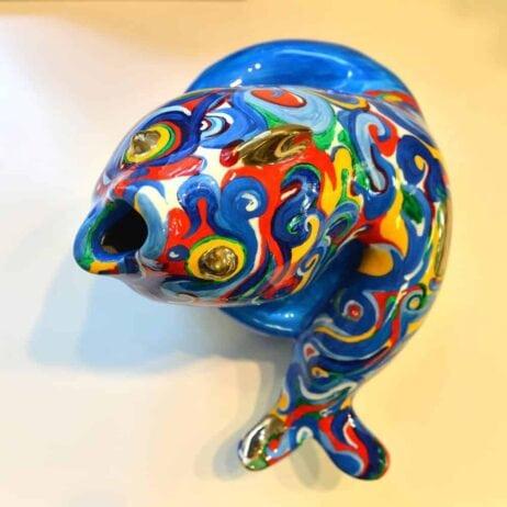 איריס עשת כהן אמנית דג מברונזה