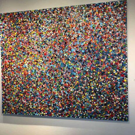 ציור תנועה בנקודות - צבעים בתנועה