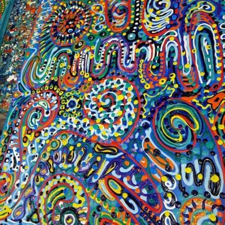 ציור בתנועה - צבעים בתנועה