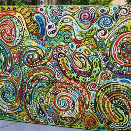 תנועת החיים - צבעים בתנועה