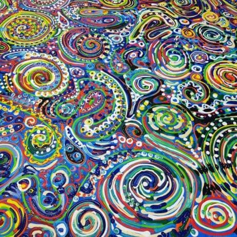 דרכים נסתרות - צבעים בתנועה