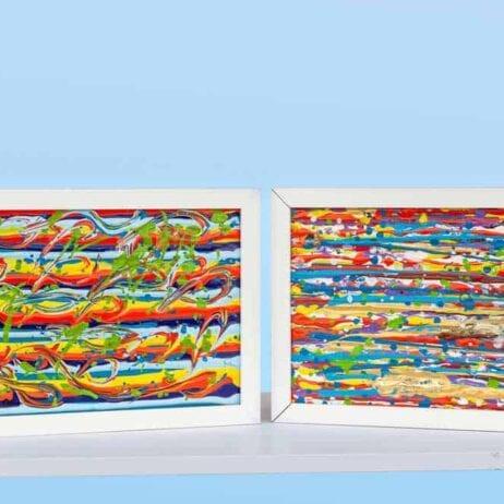 צבעי החיים בים - צבעים בתנועה