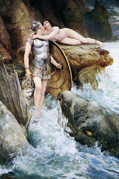 צייר: צ'ארלס נייפייר קנדי שנה: 1890