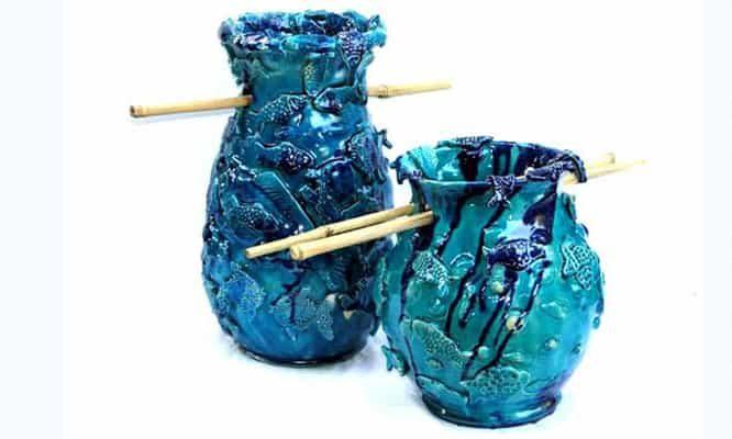 איריס עשת כהן אמנית גלריית הסטודיו כלים מקרמיקה