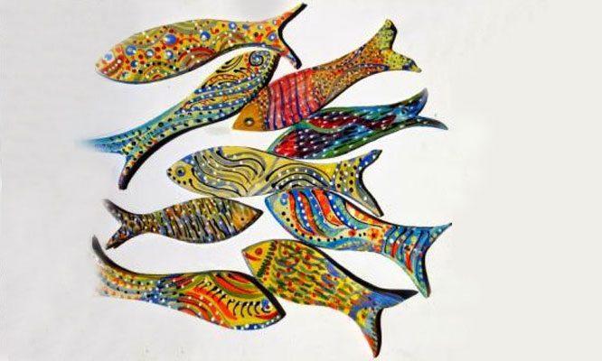 איריס עשת כהן אמנית גלריית הסטודיו גלריית דגים מקרמיקה