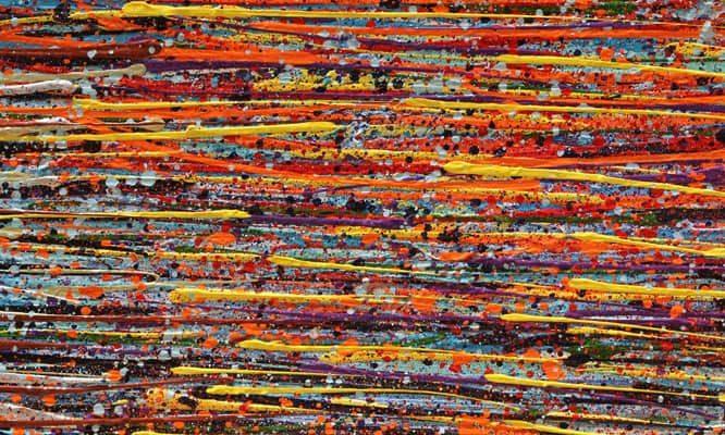 איריס עשת כהן אמנית גלריית הסטודיו ציורים סדרת Colors of life